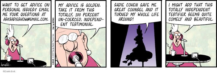 Cartoonist Darrin Bell  Rudy Park 2020-02-26 show