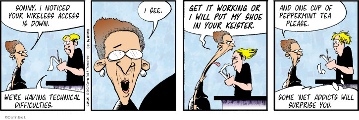 Comic Strip Darrin Bell  Rudy Park 2020-02-28 work