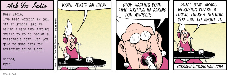 Comic Strip Darrin Bell  Rudy Park 2020-03-03 advice