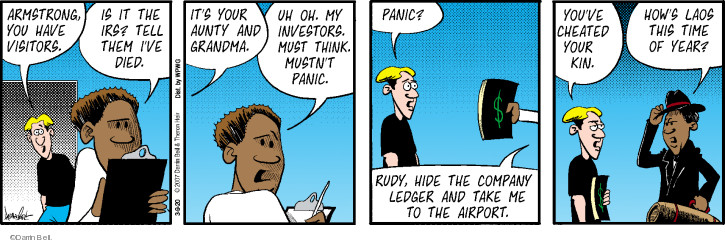 Comic Strip Darrin Bell  Rudy Park 2020-03-09 investment