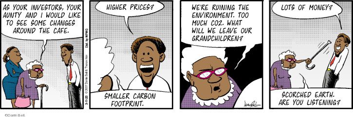 Comic Strip Darrin Bell  Rudy Park 2020-03-11 money