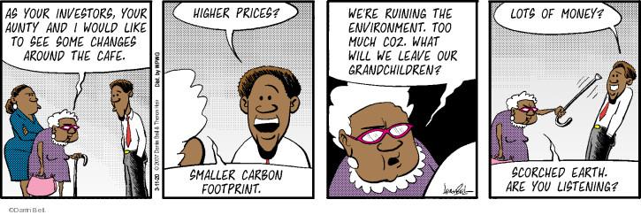 Cartoonist Darrin Bell  Rudy Park 2020-03-11 bell