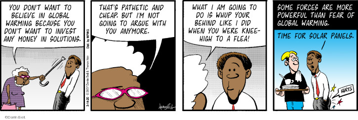 Comic Strip Darrin Bell  Rudy Park 2020-03-14 greedy