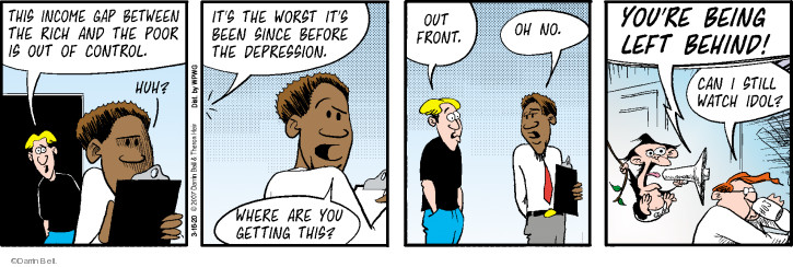 Comic Strip Darrin Bell  Rudy Park 2020-03-16 front