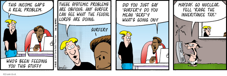 Comic Strip Darrin Bell  Rudy Park 2020-03-18 problem