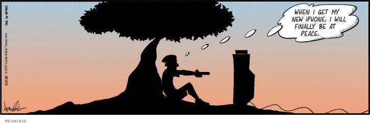 Cartoonist Darrin Bell  Rudy Park 2020-03-21 bell