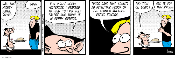 Comic Strip Darrin Bell  Rudy Park 2020-04-03 science