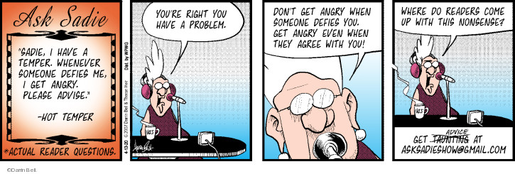 Comic Strip Darrin Bell  Rudy Park 2020-04-13 advice