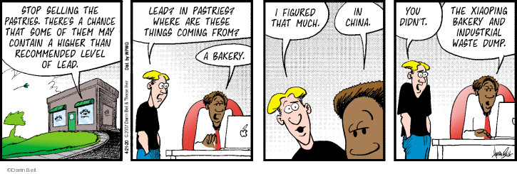 Comic Strip Darrin Bell  Rudy Park 2020-04-21 food