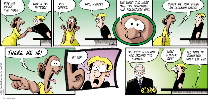 Comic Strip Darrin Bell  Rudy Park 2020-04-26 2020 election
