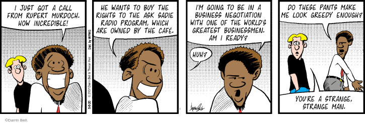 Comic Strip Darrin Bell  Rudy Park 2020-05-06 greedy