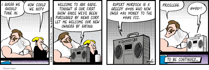 Comic Strip Darrin Bell  Rudy Park 2020-05-16 money