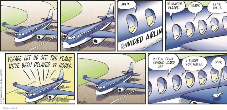 Comic Strip Darrin Bell  Rudy Park 2020-05-31 airplane travel