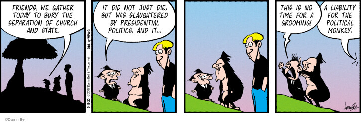 Comic Strip Darrin Bell  Rudy Park 2020-06-18 but