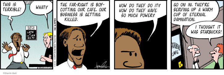 Comic Strip Darrin Bell  Rudy Park 2020-06-30 thought