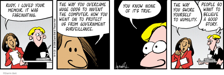 Comic Strip Darrin Bell  Rudy Park 2020-08-11 government