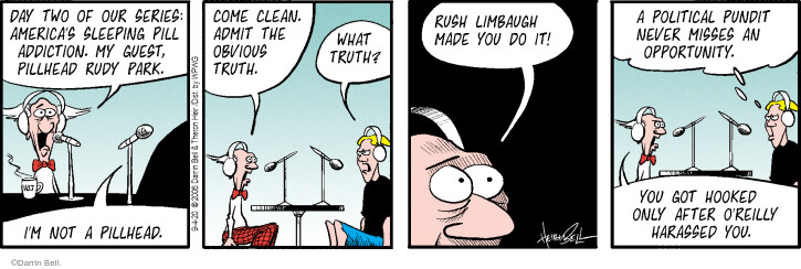 Comic Strip Darrin Bell  Rudy Park 2020-09-04 politics