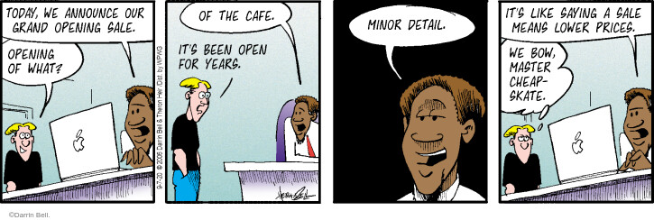 Comic Strip Darrin Bell  Rudy Park 2020-09-07 business owner