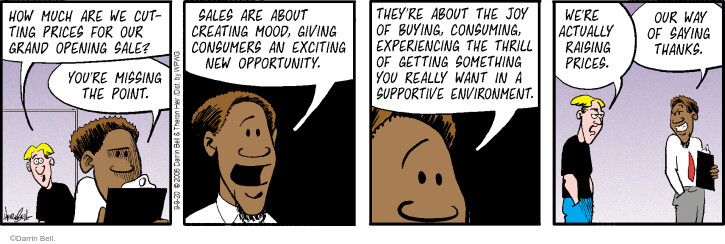 Comic Strip Darrin Bell  Rudy Park 2020-09-09 price