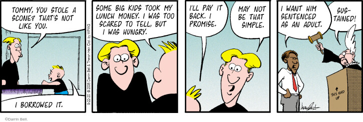 Comic Strip Darrin Bell  Rudy Park 2020-09-22 child