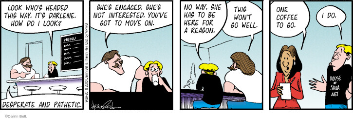 Comic Strip Darrin Bell  Rudy Park 2020-09-29 relationship