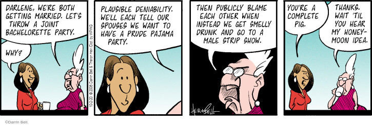 Comic Strip Darrin Bell  Rudy Park 2020-10-02 other