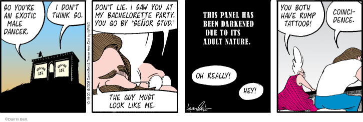 Comic Strip Darrin Bell  Rudy Park 2020-10-16 really