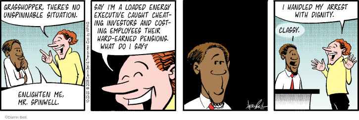 Comic Strip Darrin Bell  Rudy Park 2020-10-22 employee