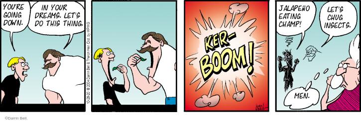 Comic Strip Darrin Bell  Rudy Park 2020-10-28 down