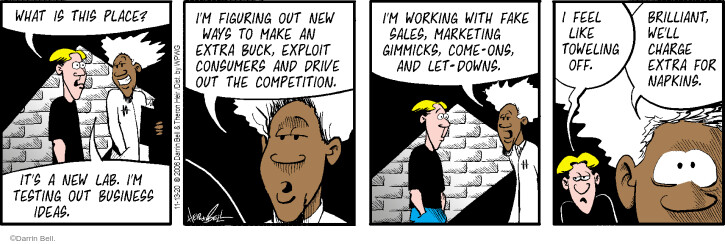 Comic Strip Darrin Bell  Rudy Park 2020-11-13 charge