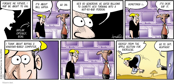 Comic Strip Darrin Bell  Rudy Park 2021-01-10 into