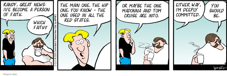 Comic Strip Darrin Bell  Rudy Park 2021-02-12 use