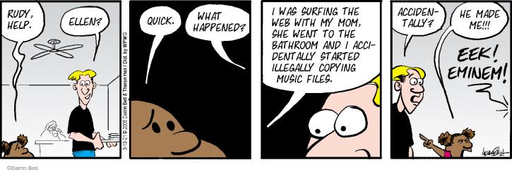 Comic Strip Darrin Bell  Rudy Park 2021-03-13 internet