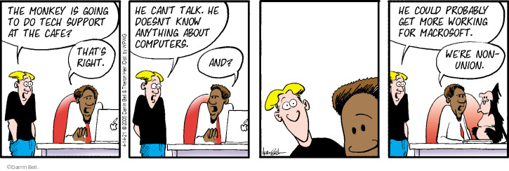 Comic Strip Darrin Bell  Rudy Park 2021-04-14 right