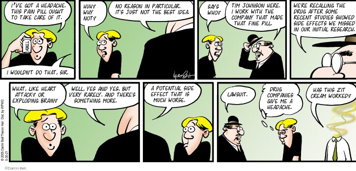 Comic Strip Darrin Bell  Rudy Park 2021-05-30 give