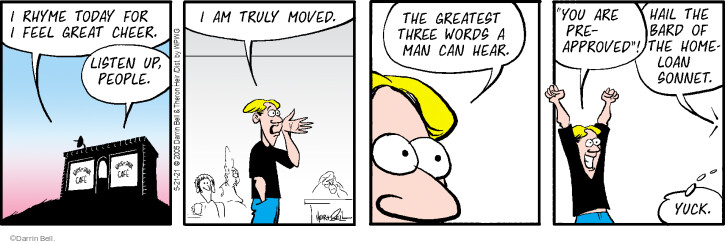 Comic Strip Darrin Bell  Rudy Park 2021-05-21 word