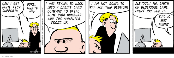 Comic Strip Darrin Bell  Rudy Park 2021-05-28 computer