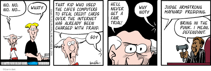 Comic Strip Darrin Bell  Rudy Park 2021-06-03 strip