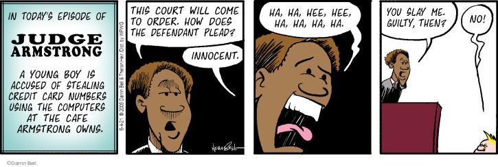 Comic Strip Darrin Bell  Rudy Park 2021-06-04 order