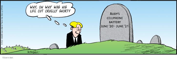 Comic Strip Darrin Bell  Rudy Park 2021-06-15 strip