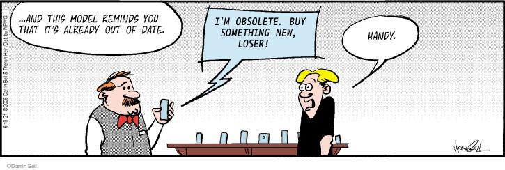 Comic Strip Darrin Bell  Rudy Park 2021-06-19 insult