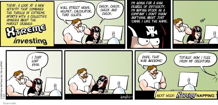 Comic Strip Darrin Bell  Rudy Park 2021-07-04 invest