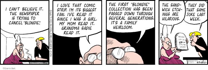 Comic Strip Darrin Bell  Rudy Park 2021-06-21 generation