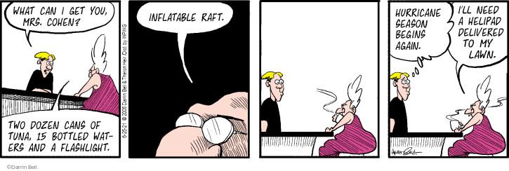 Comic Strip Darrin Bell  Rudy Park 2021-06-25 Cohen
