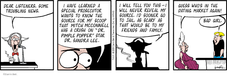 Comic Strip Darrin Bell  Rudy Park 2021-07-02 would
