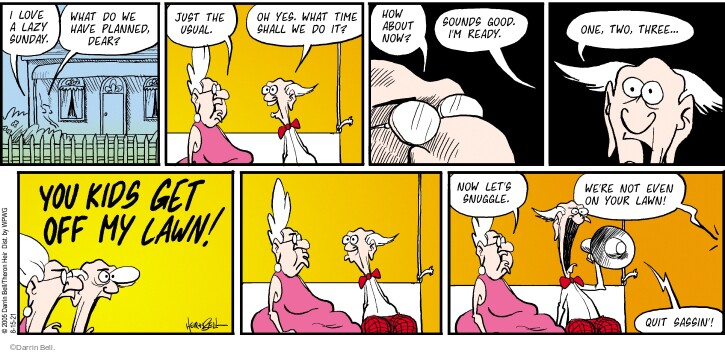 Comic Strip Darrin Bell  Rudy Park 2021-08-15 two