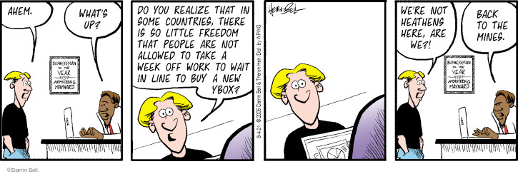Comic Strip Darrin Bell  Rudy Park 2021-08-04 little