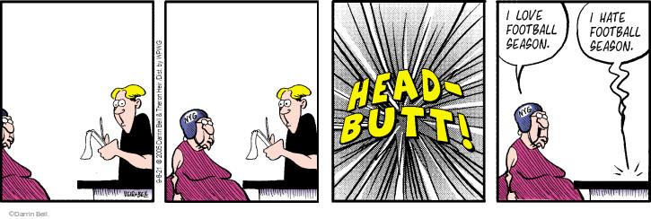 Comic Strip Darrin Bell  Rudy Park 2021-09-08 strip