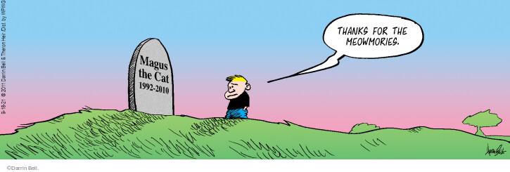 Comic Strip Darrin Bell  Rudy Park 2021-09-18 strip