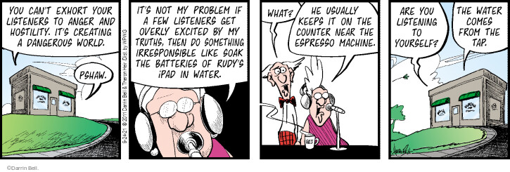Comic Strip Darrin Bell  Rudy Park 2021-09-24 your